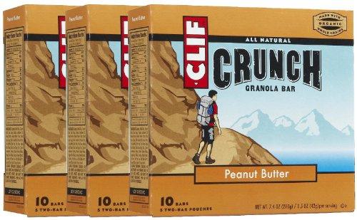 Clif Crunch Peanut Butter, 10 ct, 3 pk peanut butter making machine food processing machine