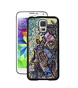 Aart Designer Luxurious Back Covers for Samsung Galaxy S5 + Lazy 360 Foldable Mobile Stand for Mobiles by Aart Store.