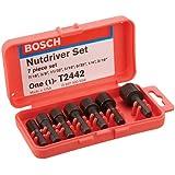 Bosch T2442 7-Piece Nut Driver Set