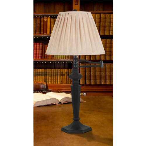Kenroy Home 20611ORB Chesapeake Swing Arm Table Lamp, Oil Rubbed Bronze promo code 2015