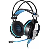 GOLDENZC KOTION EACH G7000 7.1 USB Surround Sound Stereo Gaming Headphones Headset With Microphone Enhanced Bass... - B01E2B2V5O