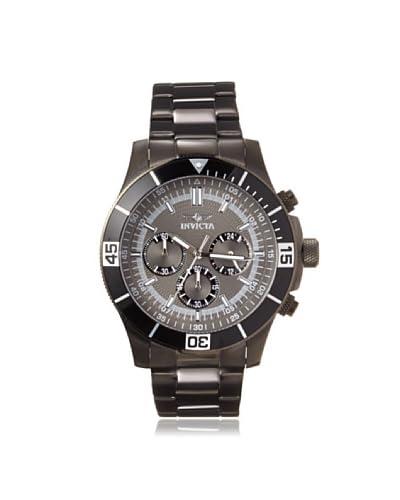 Invicta Men's 14812 Specialty Gunmetal Stainless Steel Watch