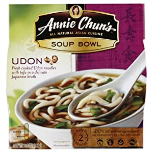 Annie Chun's Udon Soup Noodle Bowl, 5.9-Ounce Bowls (Pack of 6)