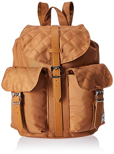 Herschel Supply Co. Dawson Womens  Quilted/Caramel Synthetic Leather