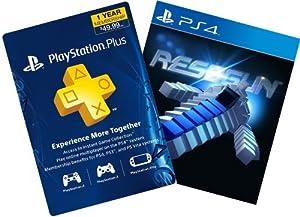 RESOGUN + 1-Year PS Plus - PS4 [Digital Code]