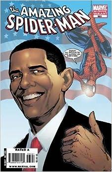 AMAZING SPIDER-MAN #583 BARACK OBAMA VARIANT Comic – 2008