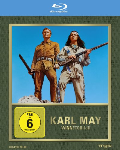 Winnetou 1-3 [Blu-ray]