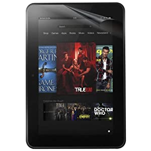 "3-Pack EZGuardZ© Amazon KINDLE FIRE HD 8.9"" Screen Protectors (Ultra CLEAR) from EZGuardZ©"
