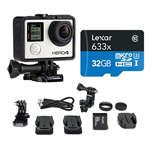 Cheapest Prices! GoPro HERO4 SILVER Music Bundle