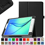 Fintie Samsung Galaxy Tab A 9.7 Folio Case - Slim Fit Premium Vegan Leather Cover for Samsung Tab A 9.7-Inch Tablet SM-T550, SM-P550 (with Auto Sleep/Wake Feature), Black