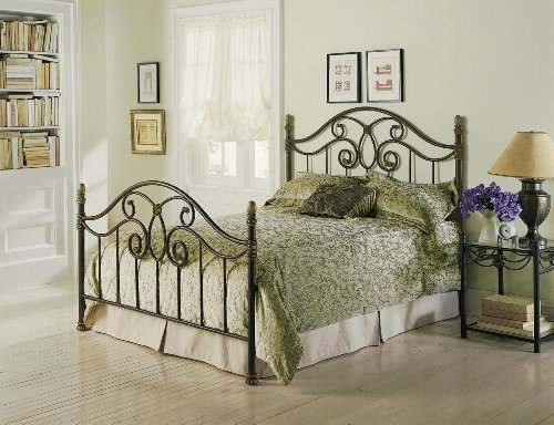 Fashion Bed Group B91N56 Dynasty Bed, Autumn Brown front-996245