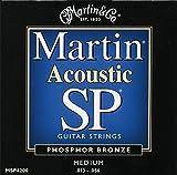 Martin MSP4200 SP Phosphor Bronze Acoustic Guitar Strings, Medium