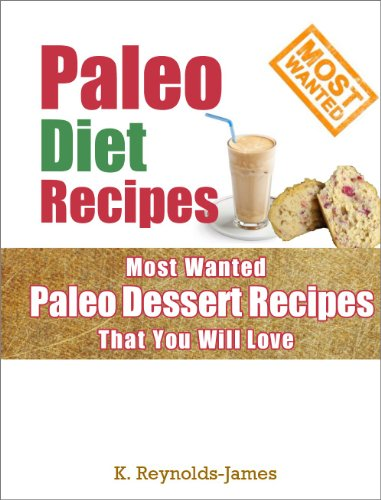 Paleo Diet Recipes: Most Wanted Paleo Dessert Recipes That You Will Love!