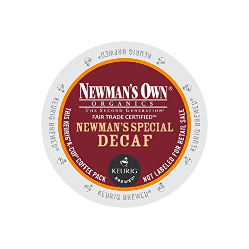 Newman's Own Organics Newman's Special Decaf, Keurig K-Cups, 12 Count (Pack of 6) (Packaging may Vary) (K Cups Coffee Newmans Own compare prices)