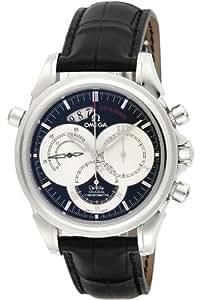 [オメガ]OMEGA 腕時計 デ・ビル コーアクシャル ラトラパンテ ブラック文字盤 自動巻 クロノグラフ 4847.50.31 メンズ 【並行輸入品】