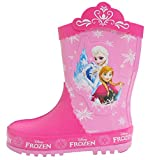 Disney Frozen Elsa Anna Little Girl's Pink Rain Boots (Toddler/Youth)