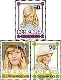 norte-Corea 2237-2239 (completa.edición.) nuevo con goma original 1982 21. cumpleaños princesa Diana (sellos para los coleccionistas)