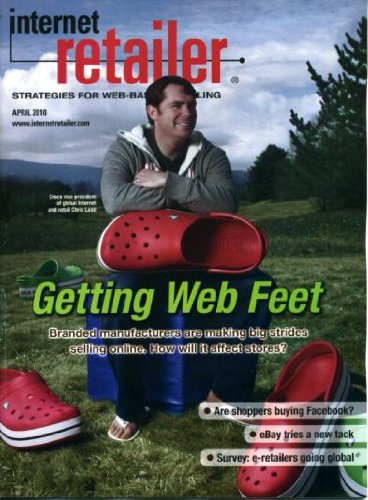 Internet Retailer April 2010 Branded Manufacturers Online, Facebook/Social Selling, eBay Tries a New Tack, Musician's Friend, Better Shopping Cart Design, Wholesale/Wholesaling, Turn Search Sites Into Selling Tools (Ebay Shopping Cart compare prices)