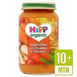 Verduras HiPP orgánicos con fideos y pollo 220g