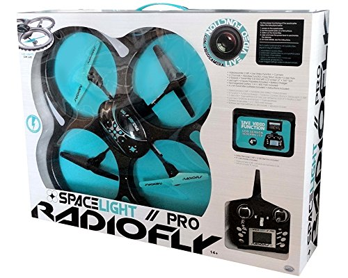 Radiofly - Drone Space Light con Videocamera Pro