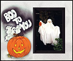 Boo to You Halloween Picture Frame Gift by Expressly Yours!