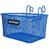 Kettler Metal Bike Basket, Blue