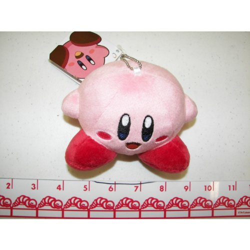 "Kirby Stuffed Plush Dangler 3"" Usa Distributor front-499947"