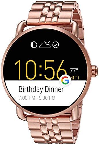 68ca10c391f1 Buy Fossil Q Wander Touchscreen Digital Multi-Colour Dial Women s Smartwatch  - FTW2112 on Amazon
