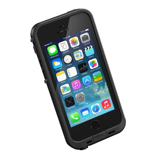 Lifeproof iPhone 5S Fre Case-Black/Black – Carrying Case – Retail Packaging – Black/Black in stock