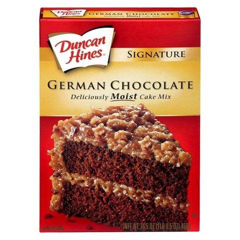 Duncan Hines German Chocolate Decadent Cake Mix (German Chocolate Cake Mix compare prices)