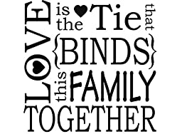 Love is the tie that binds (1 pc) 3-1/4\