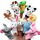 Baby Plush Toys Finger Puppets Hand Puppets