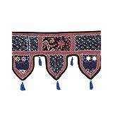 Rajrang Designer Door Hanging Patchwork With Lace Rajasthani Toran - B00O0QKVUE