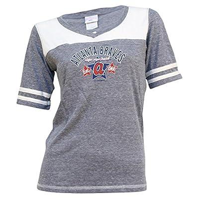 Women's MLB Team Sporty V-Neck T-Shirt
