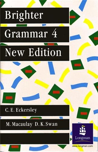 Brighter Grammar 3: An English Grammar with Exercises
