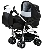 Hauck Condor All-in-One Travel System (Caviar/Silver)