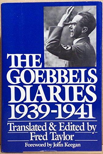 The Goebbels Diaries 1939-1941