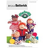 BUTTERICK CABBAGE PATCH KIDS BABY DOLL CLOTHES SEWING PATTERN B5264 (2009 OUT OF PRINT)
