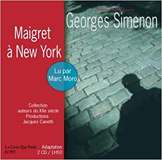 Maigret a New YOrk - 2 audio compact discs (French Edition)