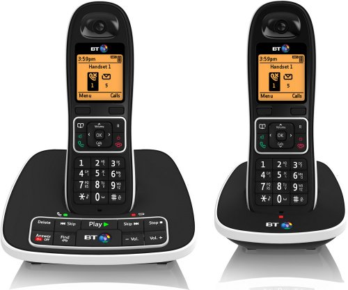 BT 7600 Cordless DECT Phone with Answer Machine and Nuisance Call Blocker (Pack of 2) image
