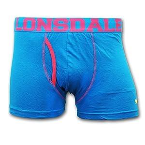Lonsdale Trunk hellblau mit Pink S