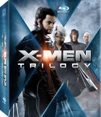 Cover art for  X-Men Trilogy (X-Men / X2: X-Men United / X-Men: The Last Stand) [Blu-ray]