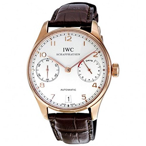 iwc-schaffhausen-portuguese-automatic-18k-rose-gold-mens-strap-watch-iw500113