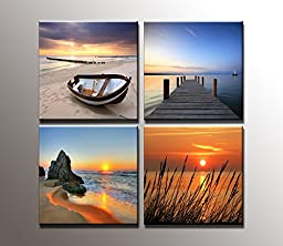 Youkuart9016-Giclee Canvas Prints Modern Stretched and Framed Artwork the Nature Pictures to Photo Paintings on Canvas Wall Art for Home Decor and Office Decorations