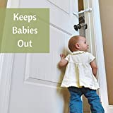 Door-Buddy-Child-Proof-Door-Lock-with-Simple-Latch-and-Adjustable-Strap-Replaces-Need-for-Inconvenient-Baby-Gate-Better-way-to-Baby-Proof-Litter-Box-or-any-unwanted-room-Cats-Enter-Easily-Installs-in-