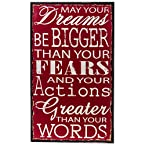 Dreams Sentiment Wall Plaque