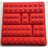 1 X Silicone Make Lego Brick Candy Chocolate Birthday Party Favor Jello Soap Crayon Mold Pan