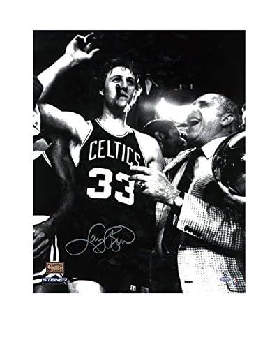 Steiner Sports Memorabilia Larry Bird With Cigar Signed Photo, Black/White, 20 x 16