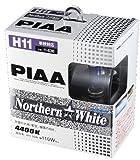 PIAA ( ピア ) [ ハロゲンバルブ ] Northern WHITE (ノーザンスターホワイト) H11 12V 55W 2コ [ PIAA ] H-636