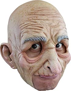 Creepy Old Man Grandpa Halloween Mask from Ghoulish Masks